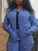 Load image into Gallery viewer, HH Works Michael Jacket (unisex) in Ceil Blue