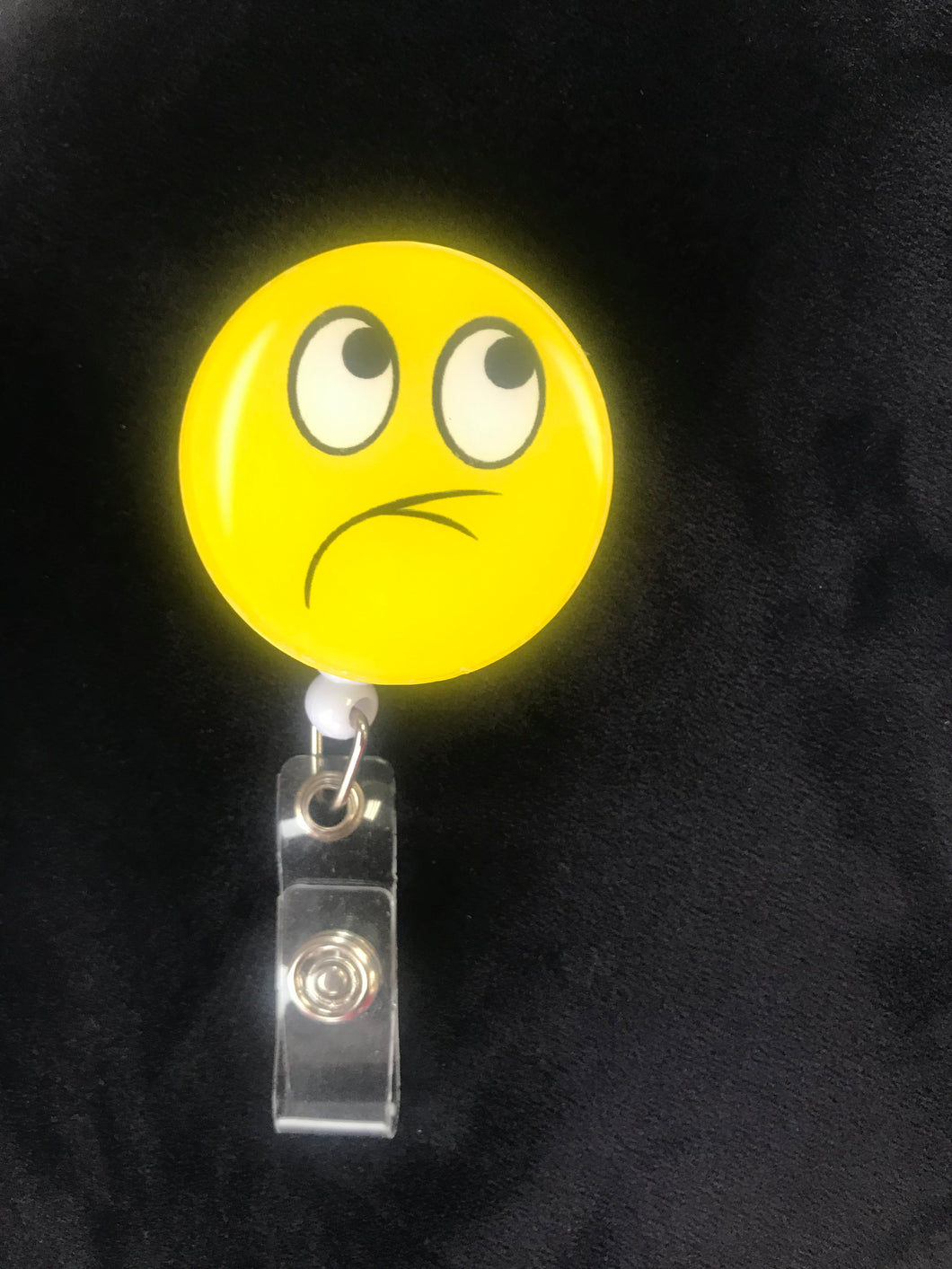 Mood Emoji Badge Clip