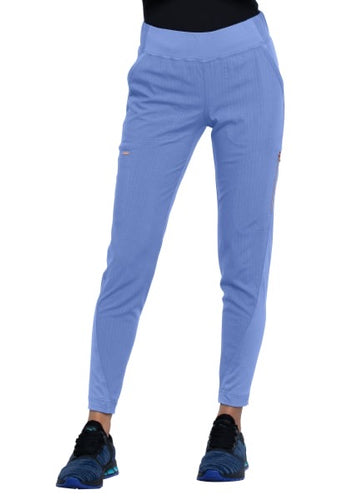 Statement by Cherokee Women's Tapered Leg Pant Ceil Blue