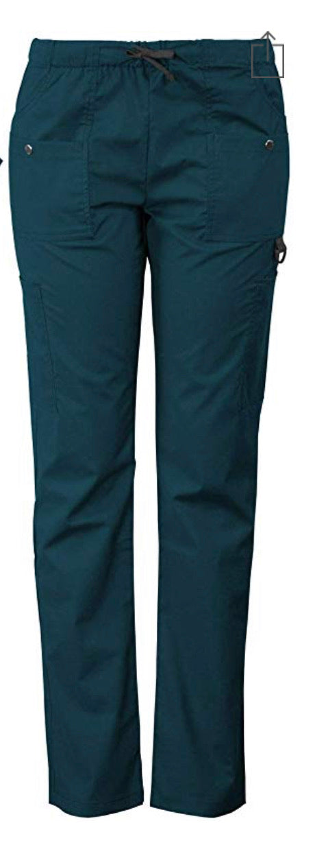 Med Gear Pant in Caribbean Blue