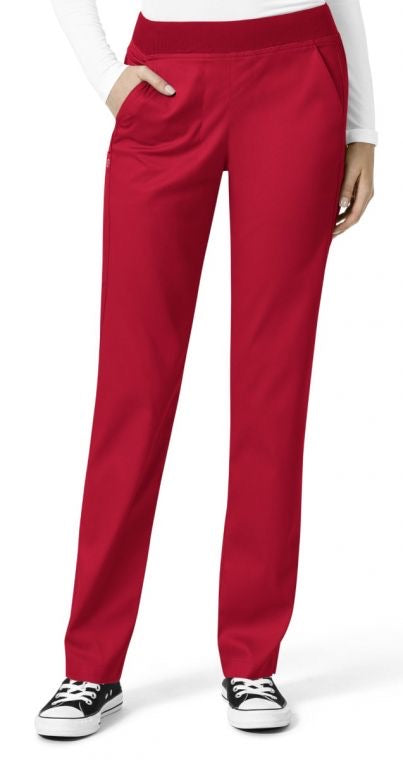 Wonder Wink Waist Cargo Pant in Red
