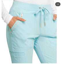 Load image into Gallery viewer, Statement Pant in Cool Water Blue