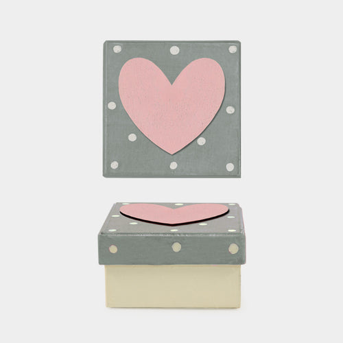 Small polka dot gift box