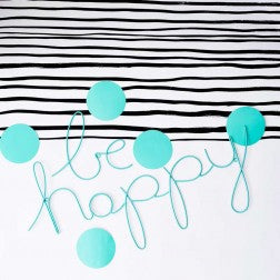 Be Happy Wire Wall Decoration