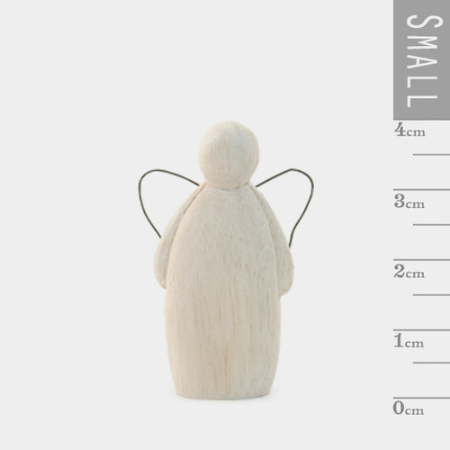 Decorative Wooden Angel - small