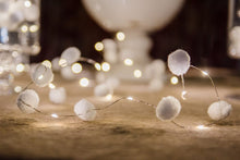Load image into Gallery viewer, Light Up Pom Pom Garland