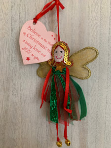 Believe in Christmas Fairy