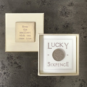 Gift Boxed Sixpence - 2 varients