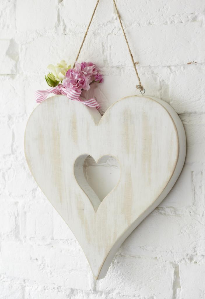 Wooden Heart in Heart