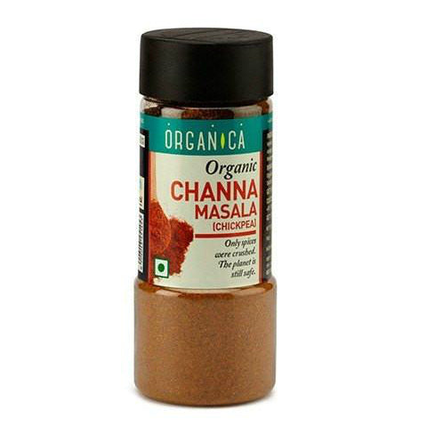 Organica Organic Channa Masala 75gm (Pack Of 2)