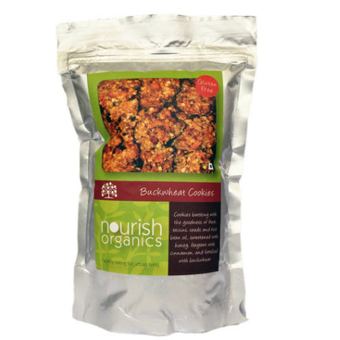 Nourish Organics Buckwheat Cookies 150gm