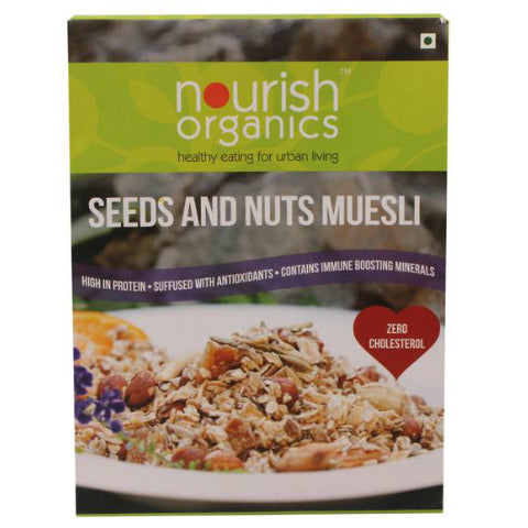 Nourish Organics Seeds & Nuts Muesli 350gm