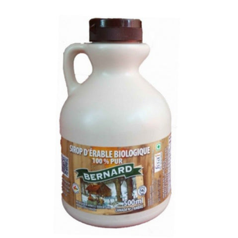 Bernard's 100% Pure Organic Maple Syrup 500ml