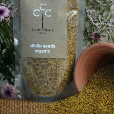 Conscious Foods Alfalfa Seeds 200gm
