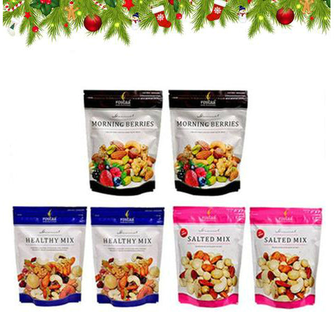 Joybynature Xmas & New Year Dry Fruits Mix Saver Pack