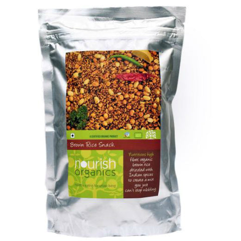 Nourish Organics Brown Rice Snack 200gm