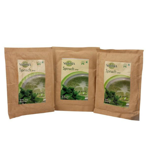 Vedantika Herbals Spinach Soup 3X40gm