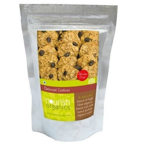 Nourish Organics Oatmeal Cookies 150gm