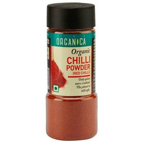 Organica Organic Chilli Powder 75gm (Pack Of 2)