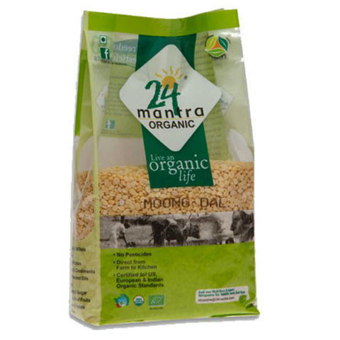 24 Mantra Moong Dal 500gms