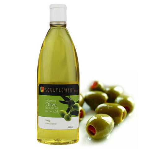 Soulflower Coldpressed Olive Carrier Oil 200ml
