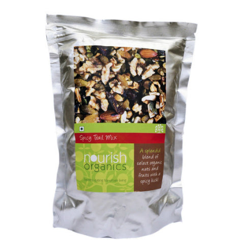 Nourish Organics Spicy Trail Mix 150gm