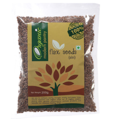 Organic Modern Pantry Flax Seeds Natural 200gm