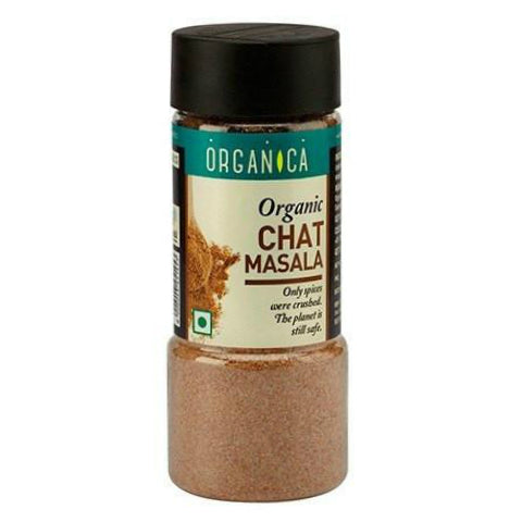 Organica Organic Chat Masala 125gm (Pack Of 2)