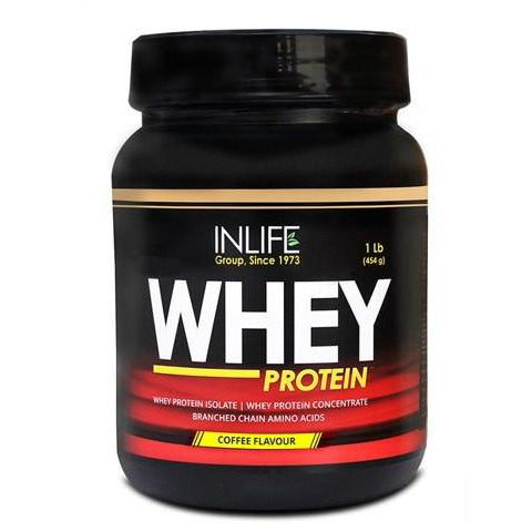 Inlife Whey Protein (Coffee Flavour) 454gm