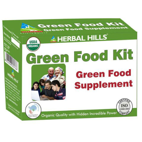 Herbal Hills Green Food Supplement Kit