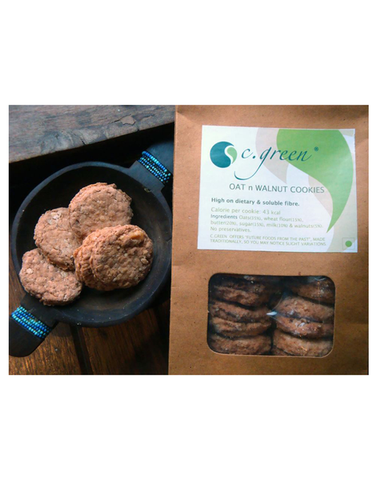 C. Green Oat & Walnut Cookies 200gm