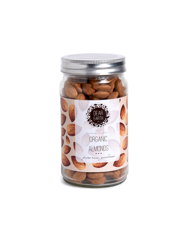 Dear Earth Organic Almonds 250gm