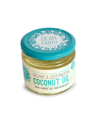 Dear Earth Organic Cold Pressed Coconut Oil 300ml