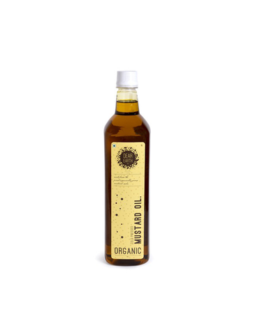Dear Earth Organic Mustard Oil 1L