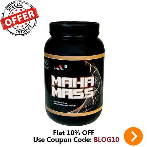 GRF MAHA MASS WHEY PROTEIN SUPPLEMENT - 300GM