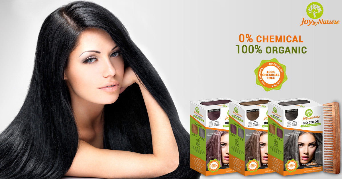 Buy Joybynature Organic Soft Black Hair Color 150gm – Best Price ...