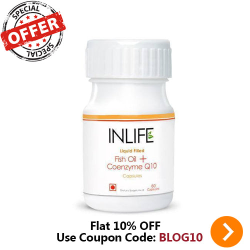 INLIFE PHARMA FISH OIL + COQ10 60 CAPSULES