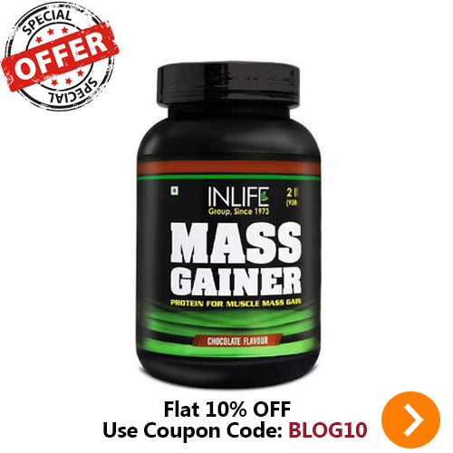 INLIFE PHARMA MASS GAINER (CHOCOLATE FLAVOUR) 908GM
