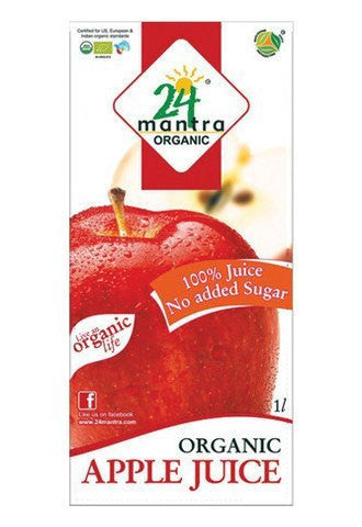 24 Mantra Apple Juice 1L