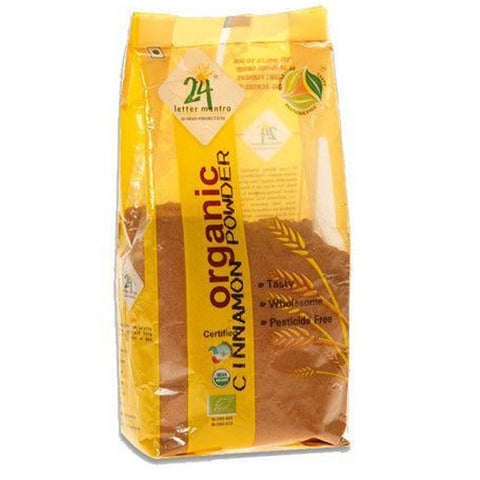 24 Mantra Cinnamon (Dalchini) Powder 100gm