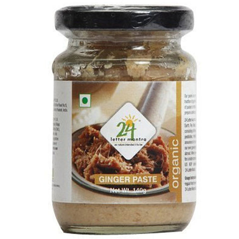 24 Mantra Ginger Paste 140gm