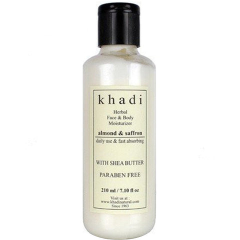 Khadi Natural Cucumber & Aloevera Cleansing Milk Cream With Sheabutter 210ml