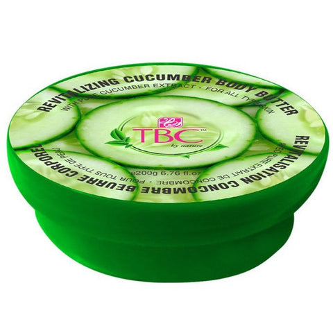 Tbc By Nature Revitalizing Cucumber Body Butter 200gm