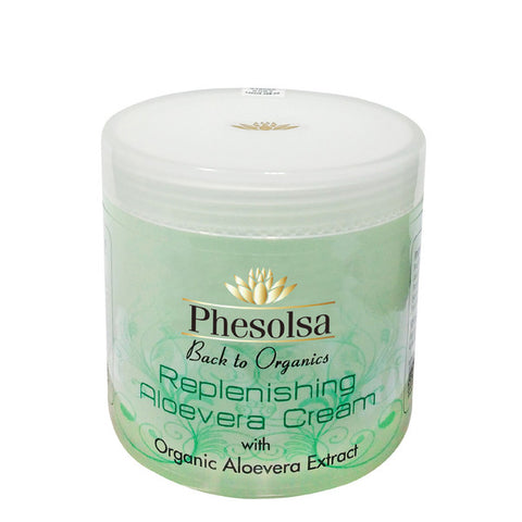 Phesolsa Replenishing Aloevera Cream With Organic Aloevera Extract 50gm