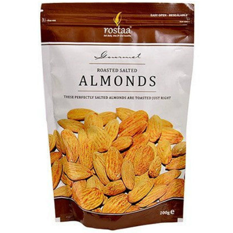Rostaa Almonds 200gm