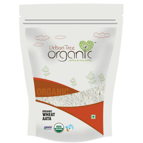 Urban Tree Organic Wheat Sharbati Atta 1Kg
