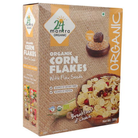 24 Mantra Corn Flakes 300gm