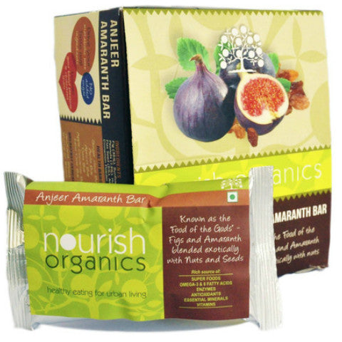 Nourish Organics Anjeer Amaranath Bar 30gm