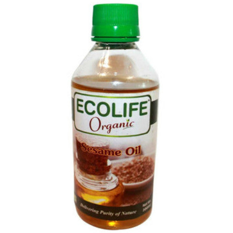 Ecolife Organic Sesame Oil 200ml