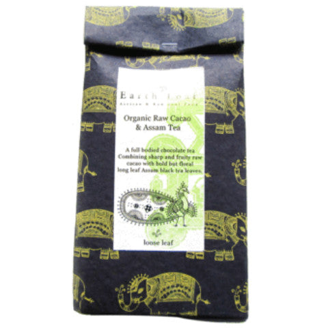 Earth Loaf Raw Cacao And Long Leaf Assam Tea 100gm